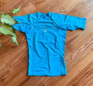 Billabong UPF 50+ Swimming Surf Sun Protection Rushguard Shirt Men's Size S
