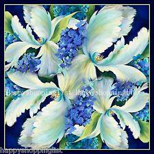 Elegant Handmade 100%Twill Silk Scarf TWIC-79306A