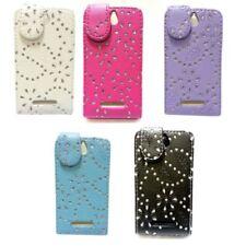 Fundas con tapa de estampado para teléfonos móviles y PDAs Sony Ericsson