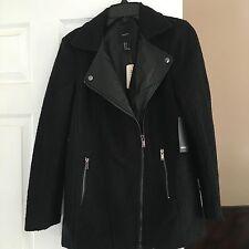 outerwear/coat, black/black, s size