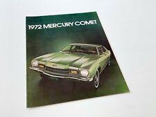 1972 Mercury Comet Brochure