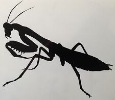 Praying Mantis Decal Insect Sticker Outdoor Quality Colour Choice Buy2 Get 1Free