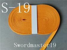 Top Grade Orange Yellow Silk Ito Sageo - Japanese Katana Wakizashi Tanto Sword