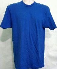 Supreme Mens T-shirt Tee Size M Medium Navy Blue Blank USA Made Kmart
