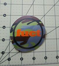 "Vintage 1990'S 3"" Fuct Camo Sticker O.G. Santa Cruz Powell Peralta Hook Ups"