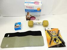 Tone Fitness Stability Ball, 55cm AND OTHER TOOLS TO HELP YOU WORK OUT