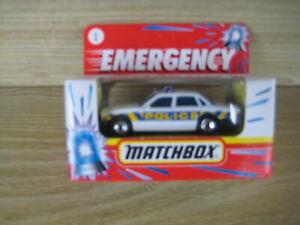 MATCHBOX SUPERFAST   MB1 JAGUAR XJ6  POLICE   ABSOLUTELY MINT Emergency Box