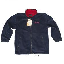 Chamonix Fleece Jacket Men Navy Red