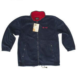Chamonix Fleece Jacket Men Navy Red