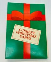 Vintage Christmas Card Set Current Inc. Cute Animals Holiday Greetings Cards Lot