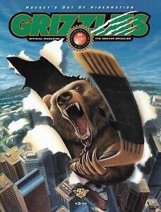 1994 DENVER GRIZZLIES  MAGAZINE PROGRAM  IHL Hockey  NM+