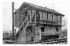 pt5157 - Hemsworth South Railway Signal Box , Yorkshire - photo 6x4