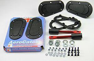 AeroCatch Haubenhalter Schnellverschluss Plus Flush Motorsport Rallye Tuning
