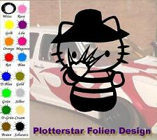 Kitty freddy JDM Sticker Adhesivo OEM PS Power Fun Shocker Fun