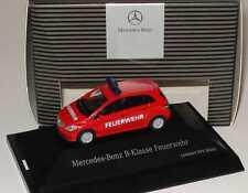 1:87 Mercedes-Benz B-Klasse W245 Feuerwehr rot - Dealer-Edition OEM - herpa