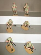 Airfix ? - or similar British soldiers 6 in 6 poses Perfect /condition