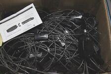 Lot de 240 Badges CHECKPOINT Portique Anti-vol Noir Cable ajustable + DEBADGEUR