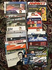 Lot Of 34 Different 2017 NASCAR Postcards Dale Jr Chase Larson Hero Card