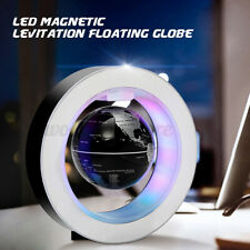 Magnetic Floating World Globe LED Levitation Earth Map Home Decor Kids Gifts