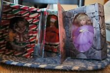 Three Marie Osmond Card Dolls - two Christmas and one Mother's Day