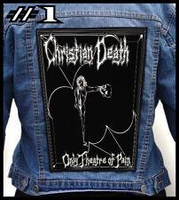 CHRISTIAN DEATH  === Huge Back Jacket Patch/Aufnäher === Various Designs