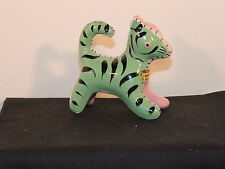 Tiger figurine Souvenir Geneva NY Made in japan over 3 inches long (6588)