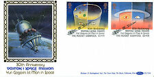 23 APRIL 1991 EUROPE IN SPACE BENHAM BLCS 64 FIRST DAY COVER LIVERPOOL SHS