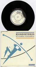 """UNDERTONES ~ IT'S GOING TO HAPPEN! / FAIRLY IN THE MONEY NOW ~ 1981 UK 7"""" SINGLE"""