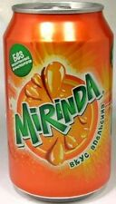 FULL NEW 330ml (11oz) Can Genuine Russian Mirinda Orange (Pepsi) Russia 2012