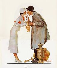Norman Rockwell Print Bargaining