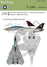 Bestfong Decal 1/144 F-14A VF-101 Part 1