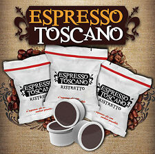 200 caffè ESPRESSO TOSCANO gusto RISTRETTO compatibili LAVAZZA CREMA AROMA POINT