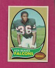 1970 TOPPS # 99 FALCONS KEN REAVES  ROOKIE NRMT-MT CARD (INV# A6454)