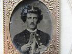 Civil War soldier gem tintype photograph