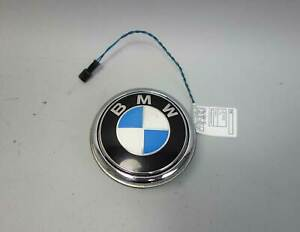 2009-2016 BMW E89 Z4 Trunk Boot Lid Handle Lock Release Button Emblem OEM