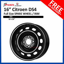 "CITROEN DS3 2008-2017 16"" FULL SIZE STEEL SPARE WHEEL STEEL RIM 6J X 16 INCH"