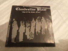 CLANDESTINE BLAZE (Fin) -  Night Of The Unholy Flames CD FIRST PRESS  Darkthrone