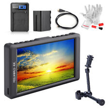 "FEELWORLD F55 5.5"" IPS 4K Camera Field Monitor+ Battery Pack+ Magic Arm+ Cable"