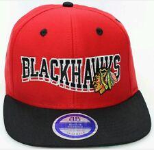 CHICAGO BLACKHAWKS Authentic Reebok Logo Style Snapback Hat/Cap L@@K *FREE SHIP*