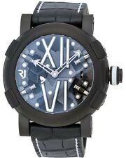 ROMAIN JEROME STEAMPUNK LTD ED OF 99 PVD 50MM AUTOMATIC MEN'S WATCH $16,950