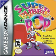 Super Bubble Pop GBA New Game Boy Advance