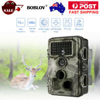 Trail Camera 16MP 1920x1080P 30fps Game Wildlife Hunting Cam IR Night Vision 8MP