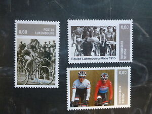 2015 LUXEMBOURG TOUR DE FRANCE SET OF 3 MINT STAMPS MNH
