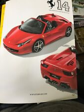 THE OFFICIAL FERRARI MAGAZINE, ISSUE 14 MAGAZINE 2011  458 SPIDER F1 English
