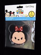 "Disney Tsum Tsum Minnie Mouse Gel Cling 2.5"" x 2.5"""