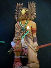 Native American Richard Gorman  Hopi Owl Warrior kachina