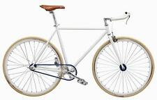 "WOO HOO BIKES - BLUE 19"" - Fixed Gear Bicycle, Fixie, One Gear, Track Bike"