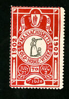 US Stamps 1902 Mass Old Home Week Label
