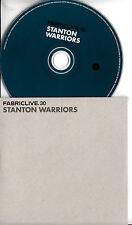 STANTON WARRIORS Fabriclive.30 2011 UK 11-trk CD