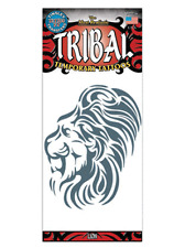LION TRIBAL TATTOO 1 PC TEMPORARY FAKE BODY ART GAG NOVELTY TRICK MAGIC KIDS TOY